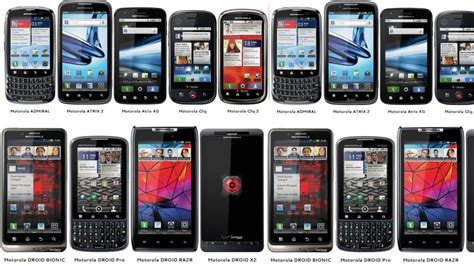 types of android phones many android phones rant