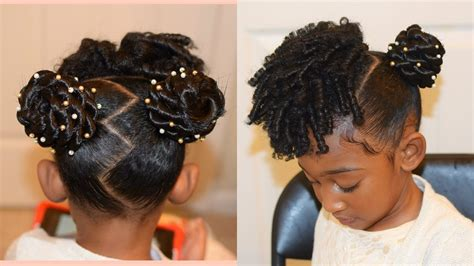 2017 Impressive Kids Natural Hairstyles: The Buns And
