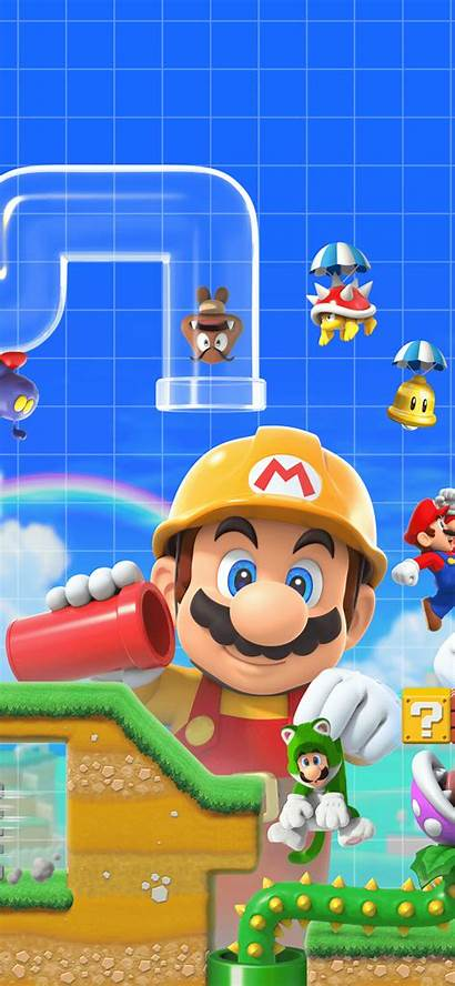 Mario Maker Super Wallpapers Mobile Toad Bros
