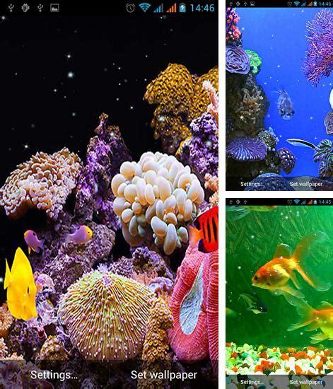 fonds d 233 cran anim 233 aquariums pour android t 233 l 233 chargez