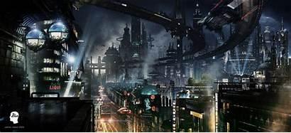 Futuristic Jjasso Concept Cities Coolvibe Sci Future