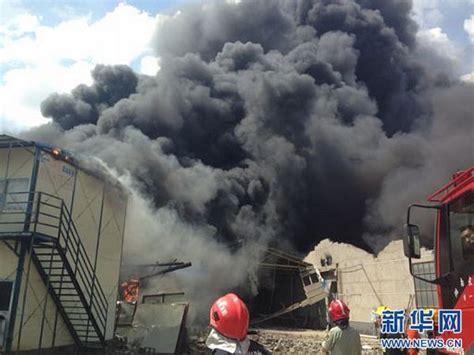 长沙黎圫一排物流仓库起火 现场传出爆炸声(图)-搜狐滚动
