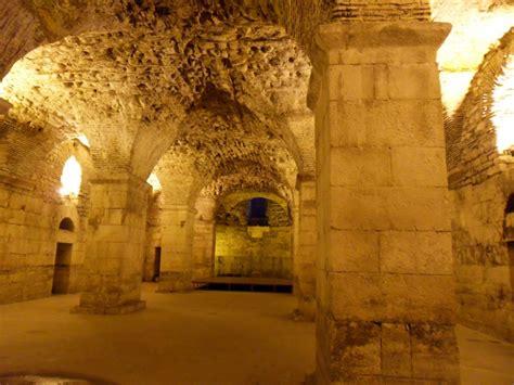 sites  split  cellars  diocletians palace