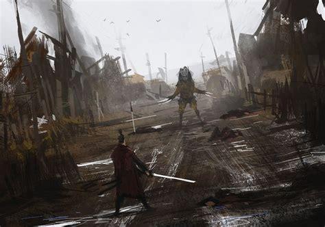 encounter jakub rozalski  artstation  http