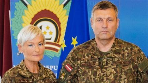 Latvijas armijas vēsturē pirmo reizi pulkveža pakāpe piešķirta sievietei   Sargs.lv
