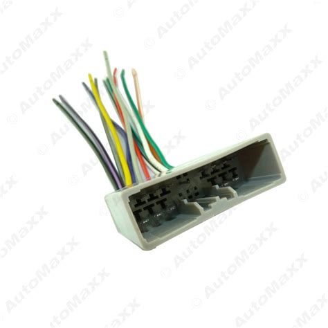 Car Player Radio Audio Stereo Wiring Harness Adapter