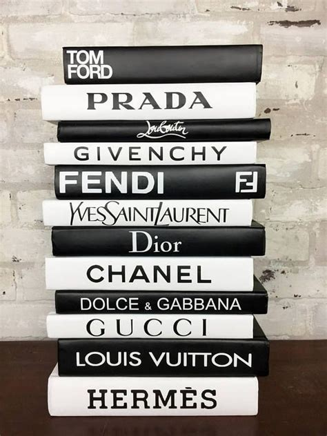 Design Home Book Clairefontaine by Chanel Louis Vuitton Prada This Fabulous