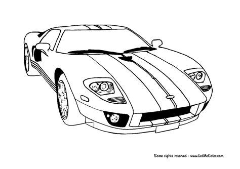 Gtr Kleurplaat by Coloring Supercars Page 3 Letmecolor