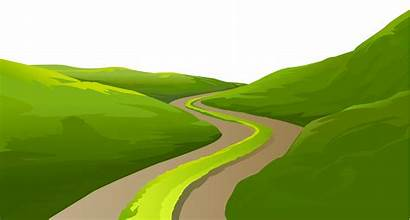 Transparent Clipart Ground Meadow Trail Grass Road