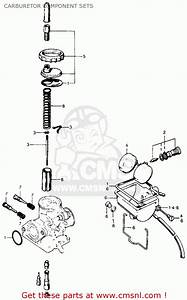 Honda Cl70 Scrambler 1972 K3 Usa Carburetor Component Sets