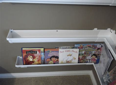 Upcycle Us Upcycling Vinyl Gutters Into Bookshelves