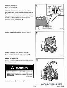 Bobcat 843  843b Service Manual Pdf