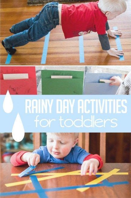 super fun rainy day activities  toddlers rainy day