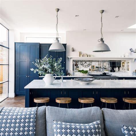 Pinterest Country Kitchen Ideas - navy kitchen ideas ideal home