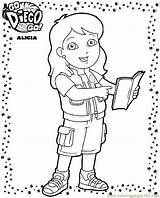 Diego Coloring Go Pages Printable Print Sheets Library Cartoons Kim Popular Coloringpages101 Clipart Fun sketch template