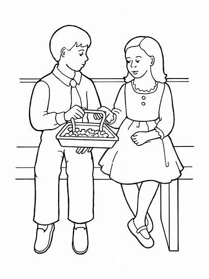Lds Sacrament Coloring Pages Clipart Children Sharing
