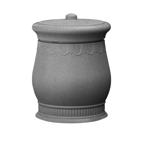 in the light urns reviews savannah 23 in x 23 in x 32 in polyethylene urn waste
