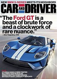 Car And Driver USA May 2017 Free PDF Magazine Download