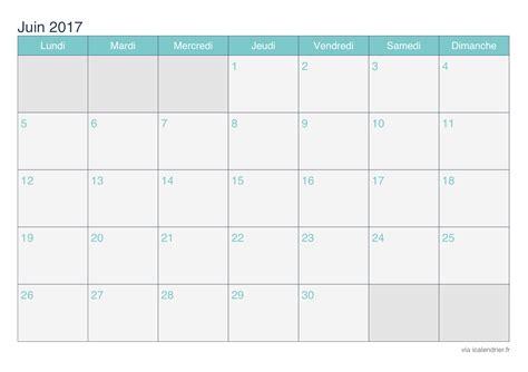 calendrier juin   imprimer icalendrier
