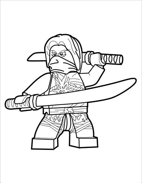 lego ninjago coloring page morro  brick show