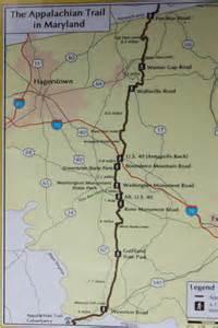 Appalachian Trail Maryland Map