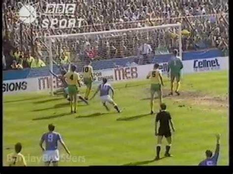 Pat Nevin Goal - Everton v Norwich FA Cup Semi Final 1988 ...