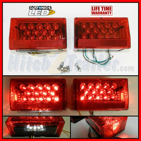 Led Submersible Trailer Lights by Submersible Led Combination Trailer Lights Stud Mount