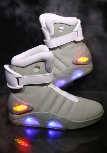 back to the future light up shoes go ultra retro with these back to the future 2 light up shoes