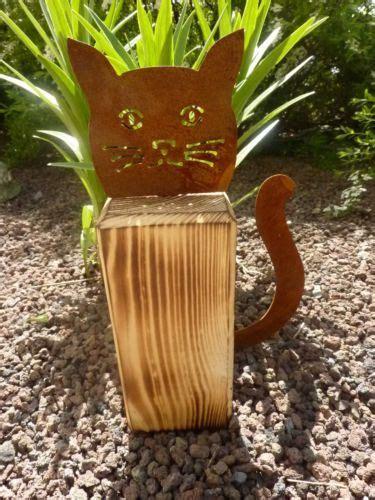 Gartendeko Katze Holz by Edelrost Katze Gartendekoration Gartendeko Eisen Rost
