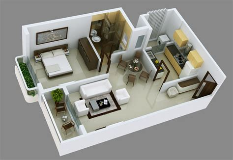 1 Bhk Home Design Plan : Simple Interior Design Ideas For 1bhkflat