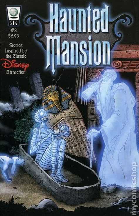 haunted mansion  comic books