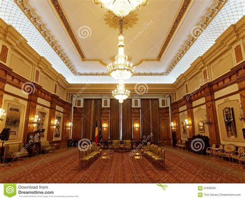 chambre du parlement à l 39 intérieur de la chambre du parlement à bucarest la