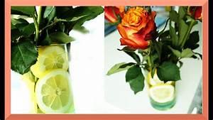 Wie Lagert Man Zitronen : zitronen dekoration in der vase mit rosen youtube ~ Buech-reservation.com Haus und Dekorationen