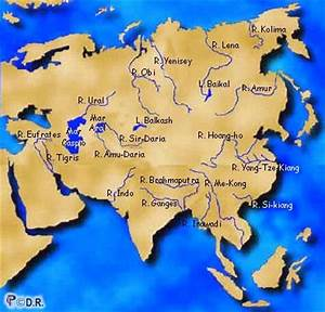 Facts about Major and Important Rivers of Asia Continent ...