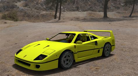 Yellow F40 by F40 Yellow By Theredcrown On Deviantart