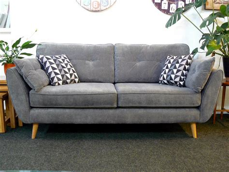 bargain settees only 163 559 connection zinc sofa in pewter fabric