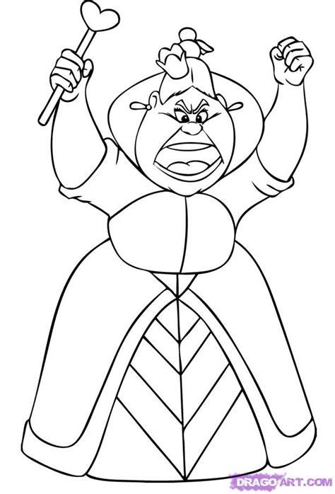queen  hearts cartoon