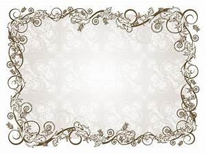 Retro Floral Frame Vector Art & Graphics | freevector.com
