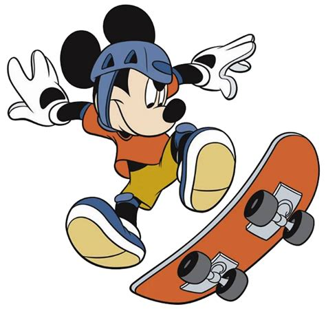 skate clipart mickey mouse clubhouse skate mickey mouse