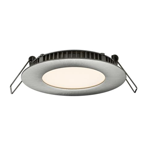 Led Light Design Marvellous Shallow LED Recessed Lighting