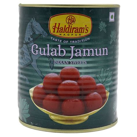 Buy Haldirams Gulab Jamun 1 Kg Tin Online At Best Price ...