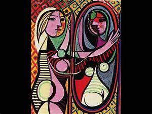 Pablo Picasso- Girl Before a Mirror, 1932 | Painting ...