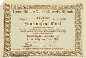 Bank Pay Ag Rechnung : hwph ag historische wertpapiere crimmitschauer bank ag ~ Themetempest.com Abrechnung
