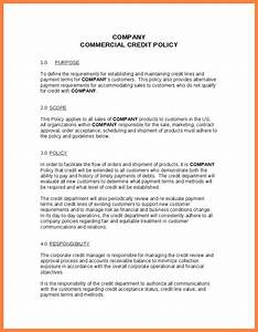 7 company policy template company letterhead With company policies and procedures template free