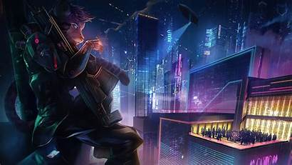 Cyberpunk Artwork Resolution Published March Wallpapers 4k