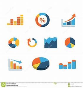 Flat Vector Graphic  Data  Diagram  Pie Chart Infographic