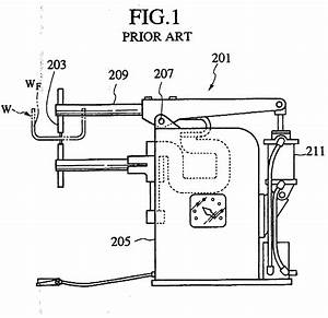 Patent Ep0819496a2 - Spot Welding Machine