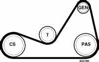 Courroie Accessoire Clio 2 : changer une courroie d 39 alternateur renault clio 2 essence auto evasion forum auto ~ Gottalentnigeria.com Avis de Voitures