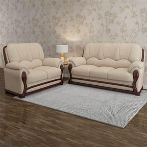 3 2 1 Sofa Set : vintage ivoria fabric 3 2 mahogany sofa set price in india buy vintage ivoria fabric 3 2 ~ Markanthonyermac.com Haus und Dekorationen