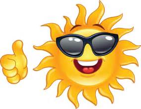 Image result for happy sun faces clip art